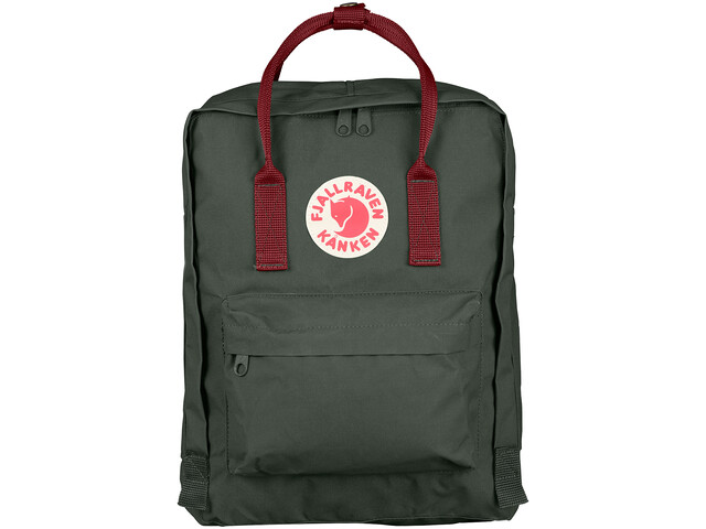 Fjällräven Kånken Rygsæk, forest green/ox red